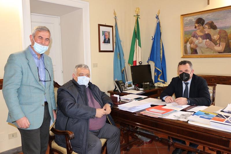 Il Presidente Di Maria incontra il Sindaco di Bucciano e Coordinatore provinciale di Fratelli d'Italia