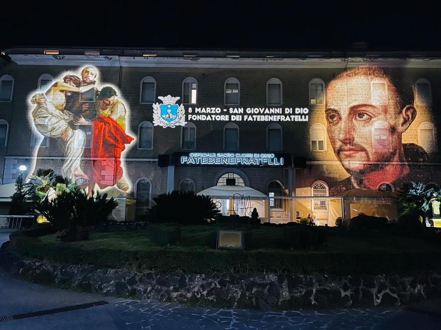 NellaParrocchia di Santa Maria di Costantinopoli l'8 Marzo Festa di San Giovanni di Dio
