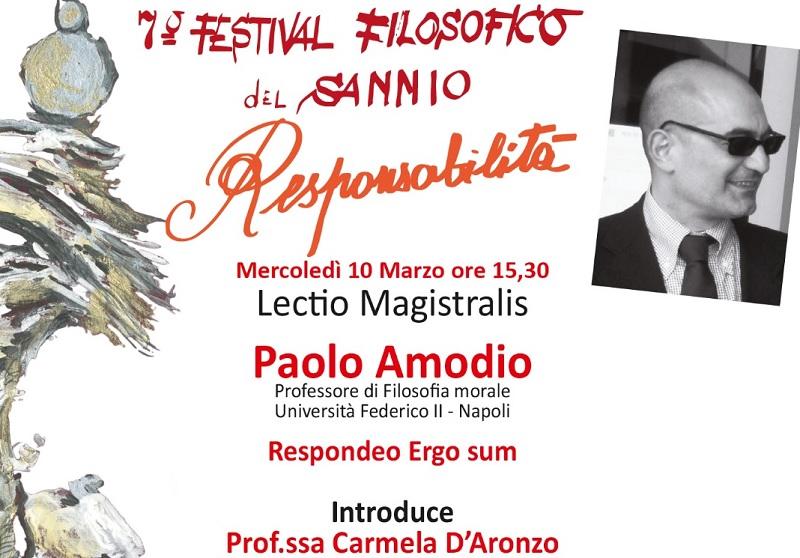 Stregati da Sophia: il 10 Marzo il sesto appuntamento del 7° Festival Filosofico del Sannio