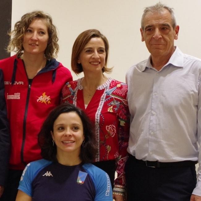 Federscherma di Benevento Sara Furno si complimenta con le campionesse Rossana Pasquino e Francesca Boscarelli