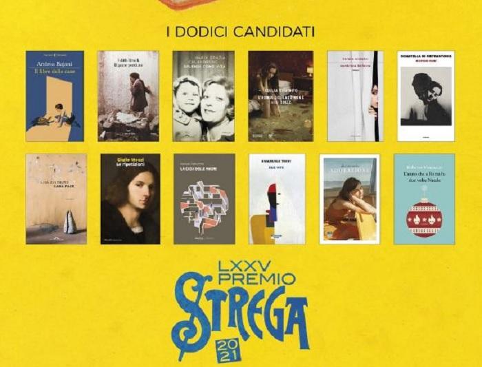 Premio Strega 2021, selezionata la dozzina: ecco la lista dei libri in gara