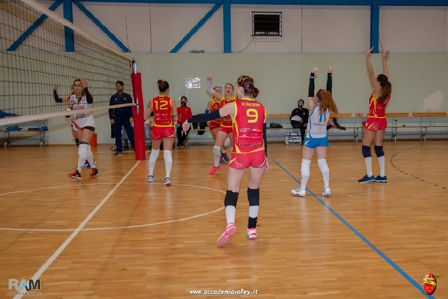 Accademia Volley, primo posto da blindare