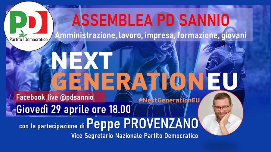 """""""Agorà Democratiche"""":Oggi PD del Sannio incontra il vicesegretario nazionale Peppe Provenzano"""