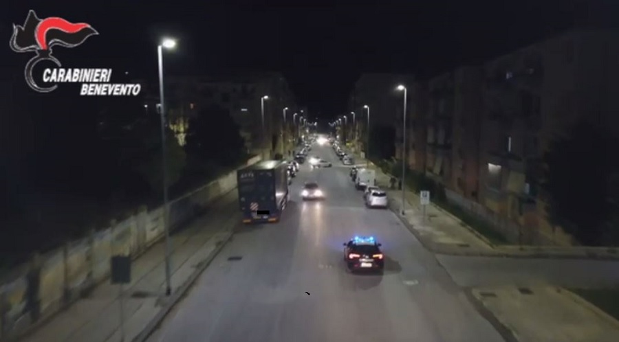 Benevento norme anti covid: controlli straordinari dei Carabinieri nelle Festività Pasquali