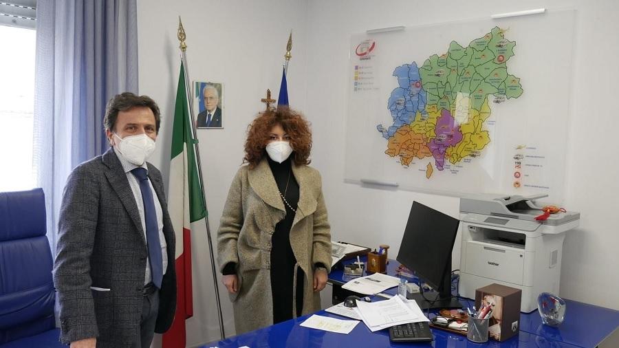 Riapertura (RSA) Arpaise. D'angelo,Associazione Psiché incontra il Dirigente dell'Asl Benevento Gennaro Volpe