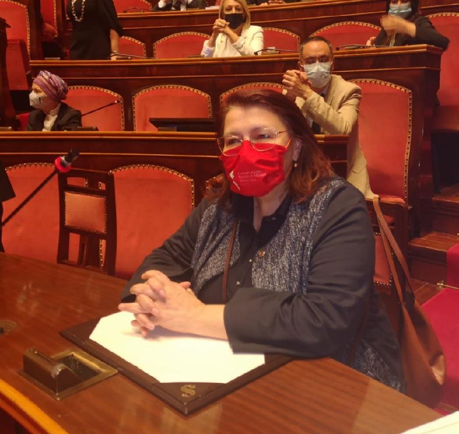"""De Lucia : """"In Senato il DDL per Arco di Traiano monumento nazionale."""""""