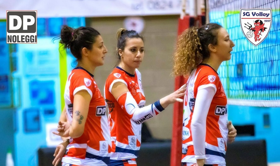 La DP Noleggi SG Volley doma al tie-break un'ottima FAR Volley Napoli