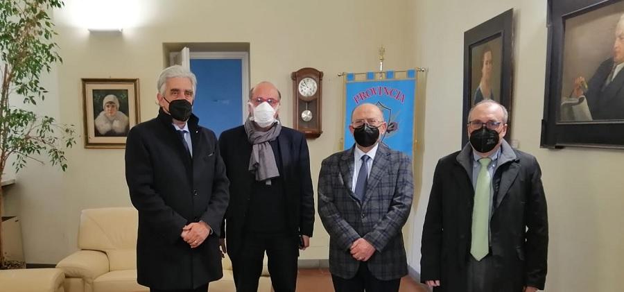 CastelvenereNa-Ba, incontro tra Errico, il Commissario prefettizio Boniello e gli esponenti del centro studi 'A.Moro'