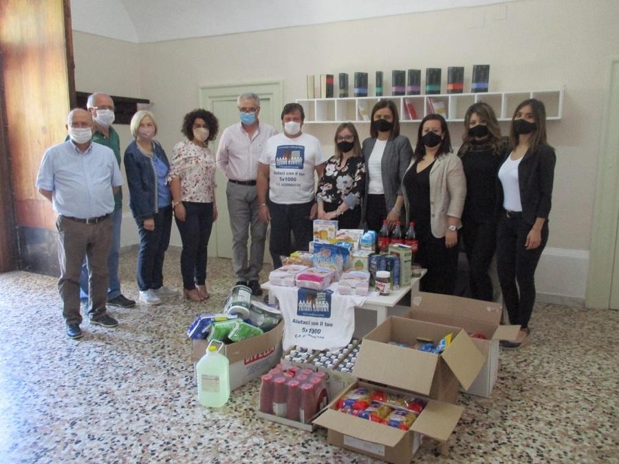 """Solidarietà: l'Associazione """"Gens Nova"""" di Telese consegna le """"Uova di Pasqua Solidale"""" ai bambini."""