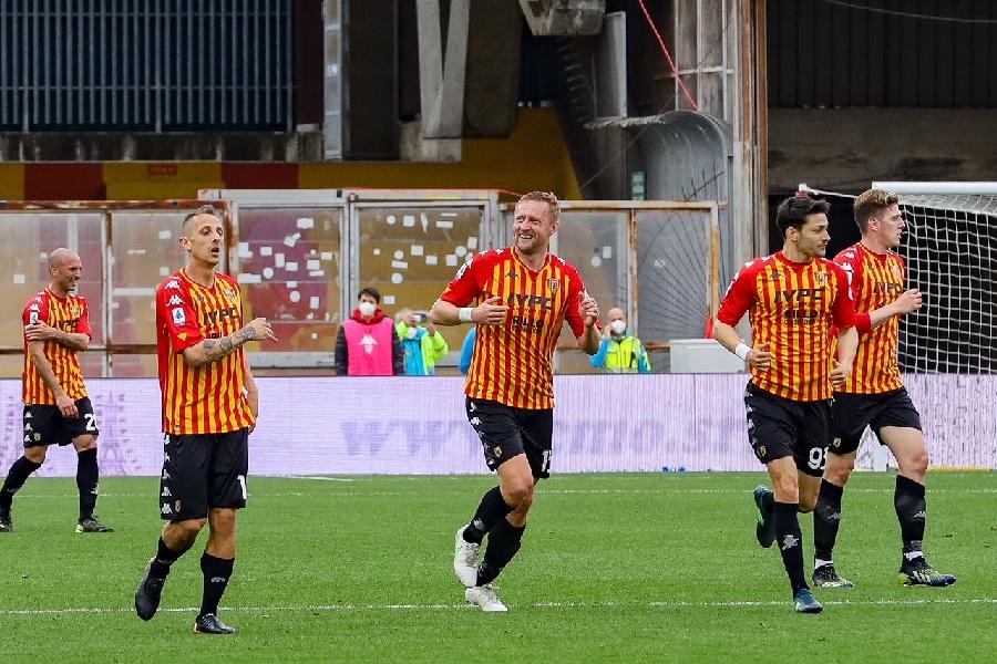 Benevento e Parma si dividono la posta. Benevento 2 Parma 2