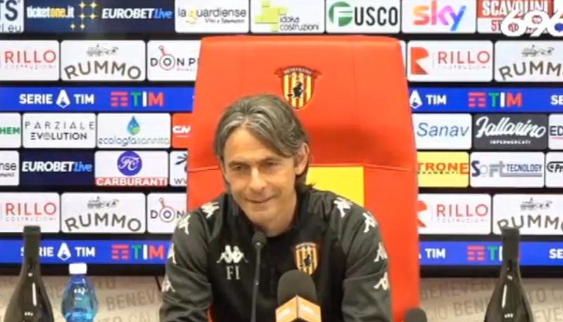 """Inzaghi : """" Da Gennaio il Parma è un'altra squadra ma noi se siamo al 100% possiamo battere chiunque"""""""