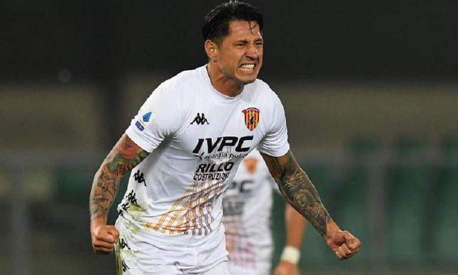 Il Benevento impatta con il Genoa per 2 a 2 ma il Cagliari si avvicina