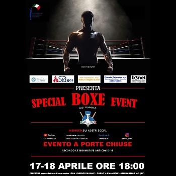 Sannio Boxe, due giorni di pugilato a S. Martino Valle Caudina