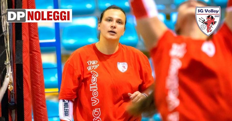 DP Noleggi SG Volley, grande ritorno di Veronica Masella in cabina di regia