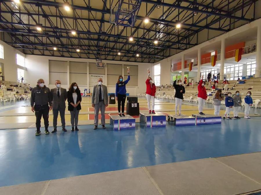 Accademia Olimpica Beneventana, incetta di titoli ai Campionati Regionali giovanili
