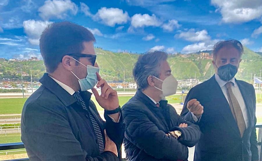 """Rubano(FI): """"Con visita sottosegretario Battistoni all'Ippodromo di Agnano, ribadita attenzione per il nostro territorio"""