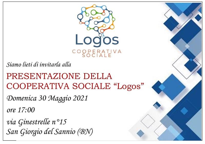 """A San Giorgio del Sannio  domenica la presentazione della Cooperativa Sociale """"Logos"""""""
