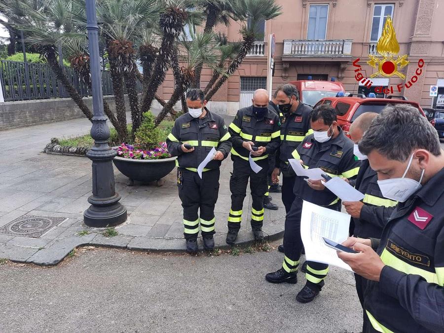 Corso TAS per i Vigili del Fuoco presso il comando provinciale di Benevento