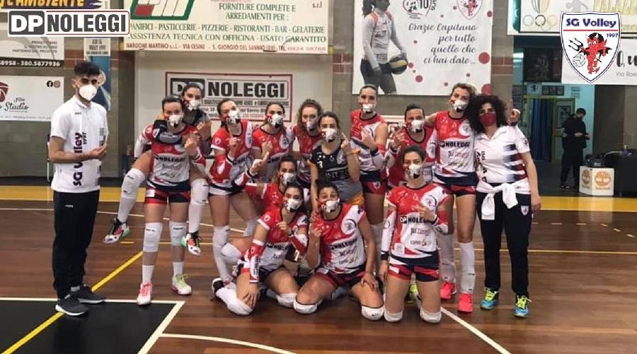 Vola in alto la DP Noleggi SG Volley: vittoria e primo posto conquistato!