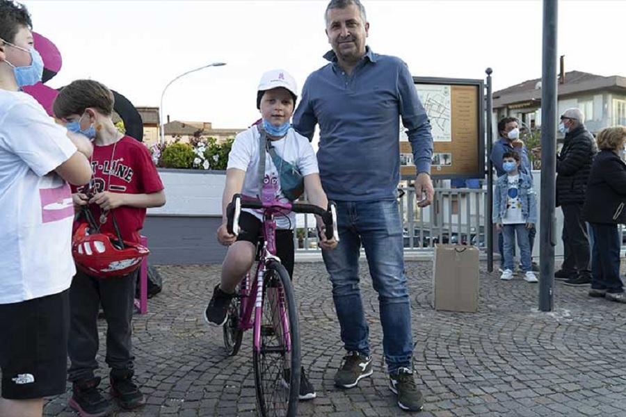 """Guardia Sanframondi:Falato ha vinto """"Girino Guardi"""" la gimkana riservata ai bambini e organizzata per l'arrivo del Giro d'Italia"""
