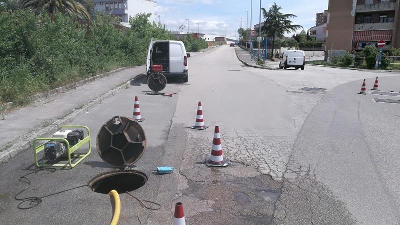 Gesesa:interruzione idrica per un guasto improvviso in zona Capodimonte