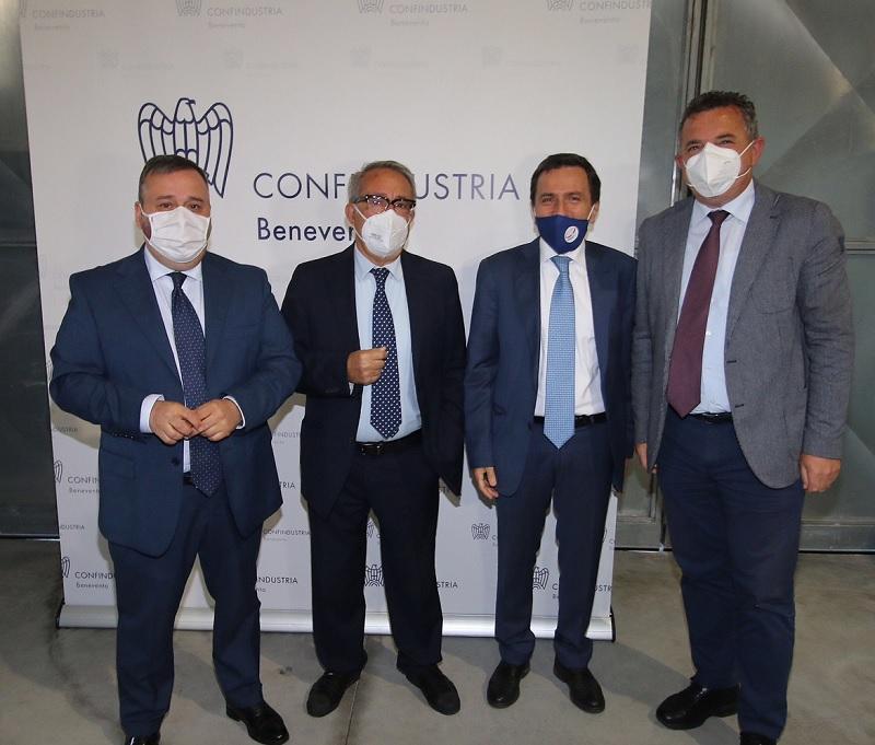 Hub vaccinale Ponte Valentino, Di Maria: apprezzamento per il lavoro che stanno svolgendo le Autorità Sanitarie di Benevento
