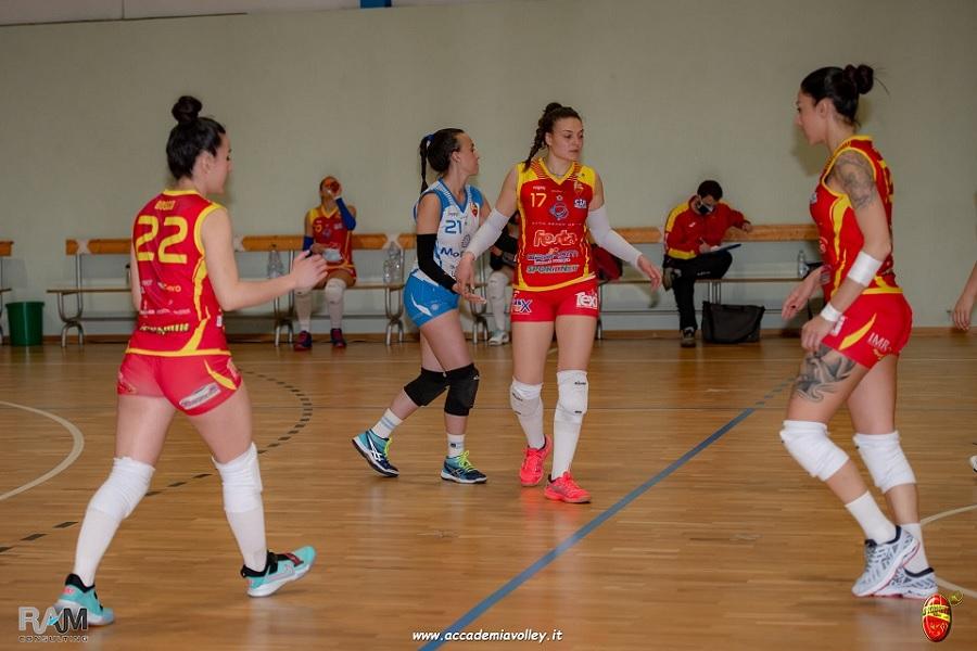 Turno infrasettimanale per l'Accademia Volley