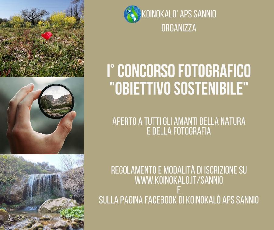"""I°Concorso di Fotografia Naturalistica """"Obiettivo Sostenibile"""""""