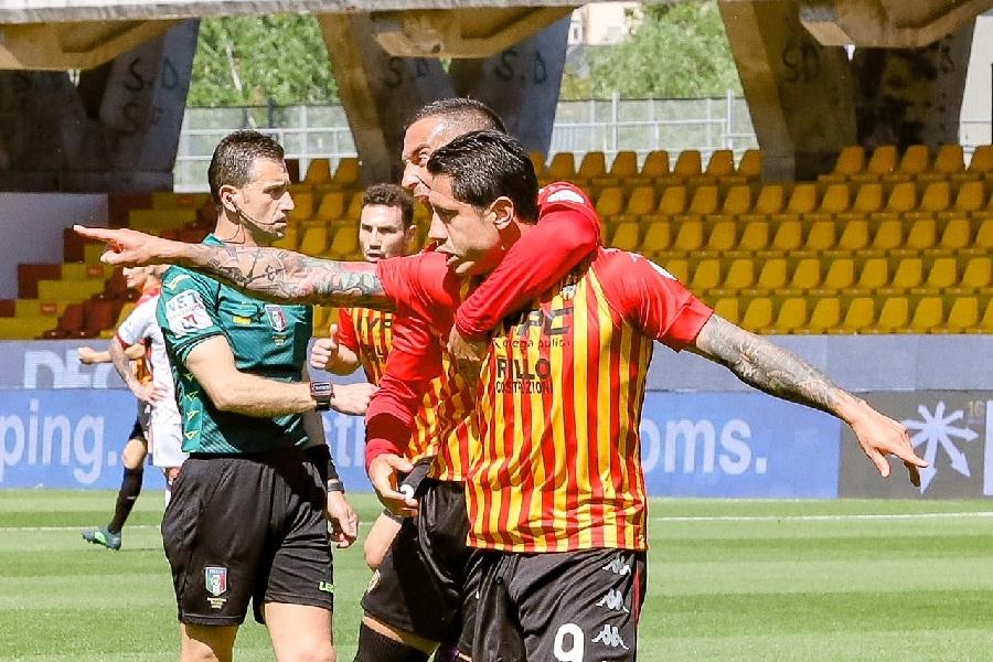 Vicenda Mazzoleni post partita Benevento-Cagliari Antonio Di Maria esprime solidarietà a Mastella