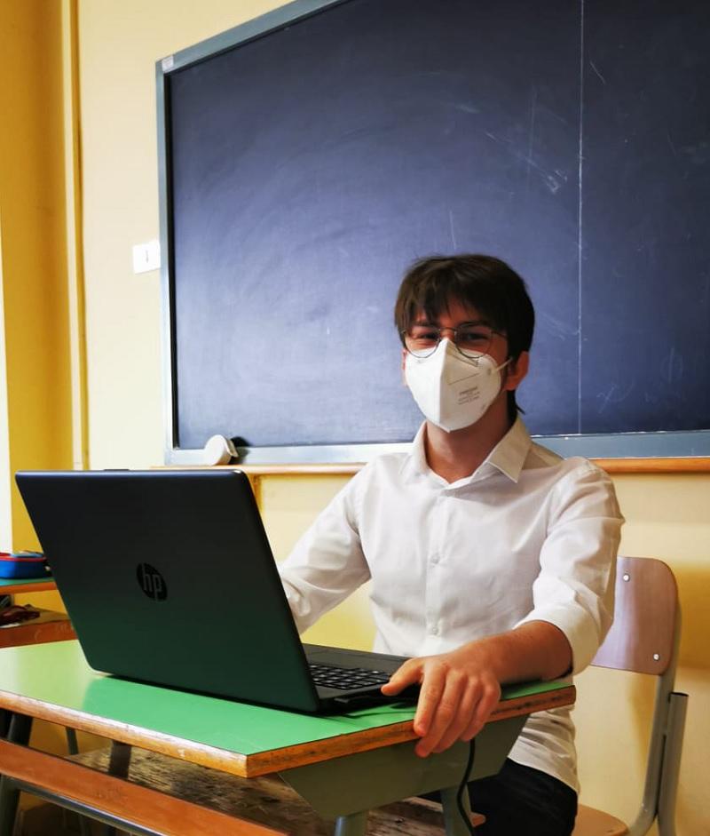Uno Studente del Liceo Scientifico G.Rummo di Benevento si aggiudica il II posto alle Olimpiadi di Italiano