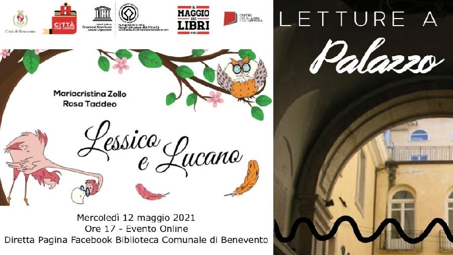 """Benevento. Parte """"Letture a Palazzo"""" con tre appuntamenti in programma questa settimana"""