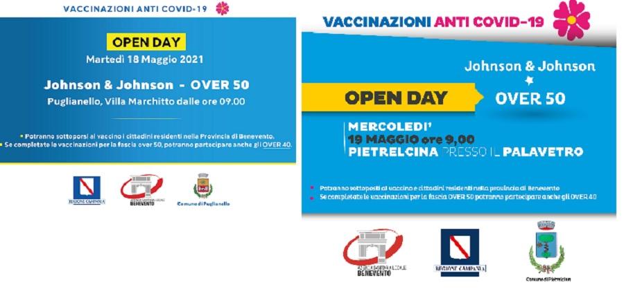 ASL, Vaccinazioni: Prossimi appuntamenti a Puglianello e Pietrelcina