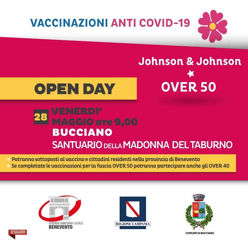 ASL, oggi e domani open day vaccinazioni a Molinara e Bucciano