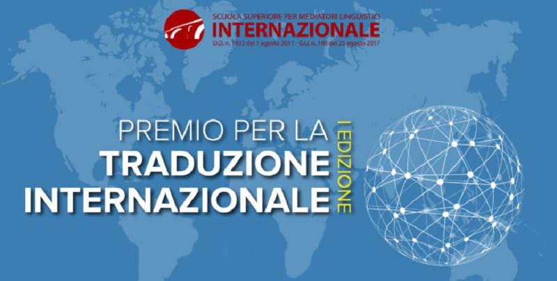 SSML Internazionale di Benevento: domani il Premio per la Traduzione Internazionale I edizione