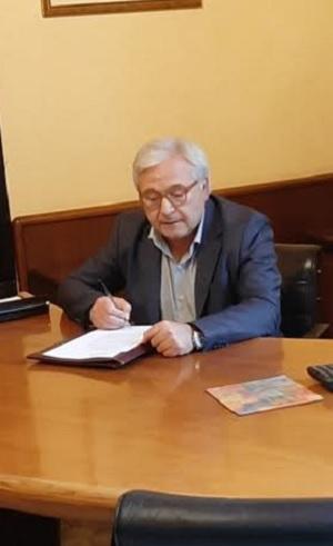 Insediato questa mattina, presso la sede della Camera di Commercio di Benevento il Commissario straordinario dell'Ente, Dott. Salvatore Riccio