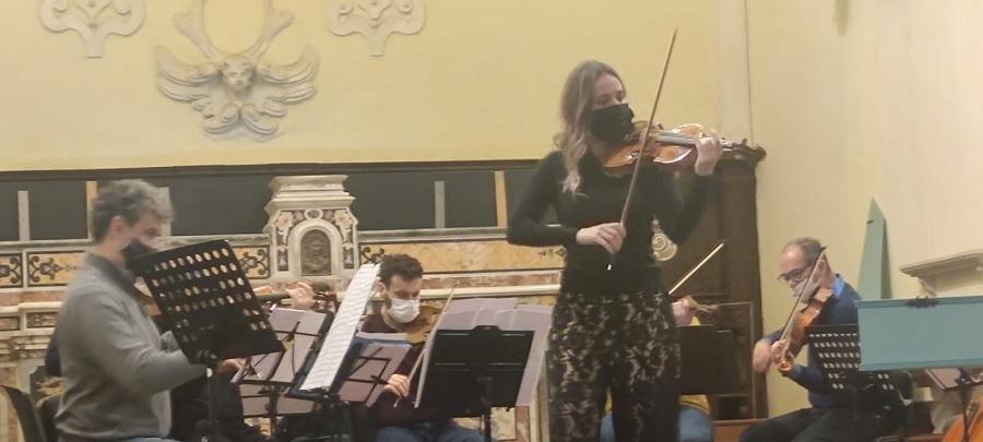 Un Cd con Anna Tifu per L'Accademia di Santa Sofia.