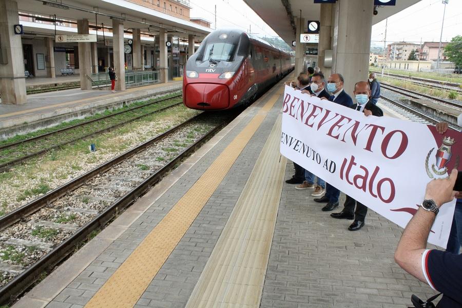 """Di Maria replica ai  commenti per il benvenuto ad Italo: """"doverosa la presenza delle istituzioni"""""""