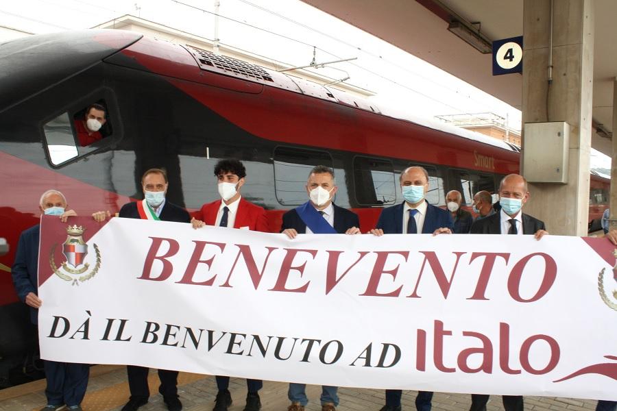 """Treno Italo a Benevento, Forza Italia: """"una buona notizia, e attorno tanto folklore"""""""