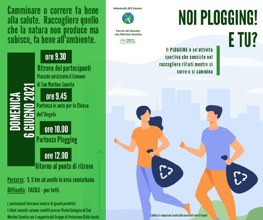 1° Plogging Day nel Sannio!