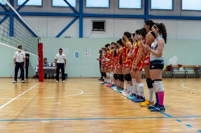 Tappa a Salerno prima della finale per la B2
