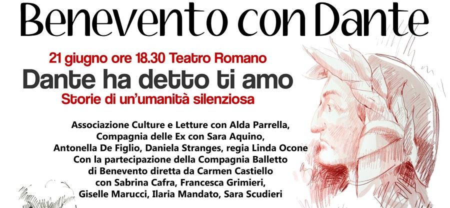 """""""Benevento con Dante"""", il prossimo appuntamento è con la Compagnia delle ex"""