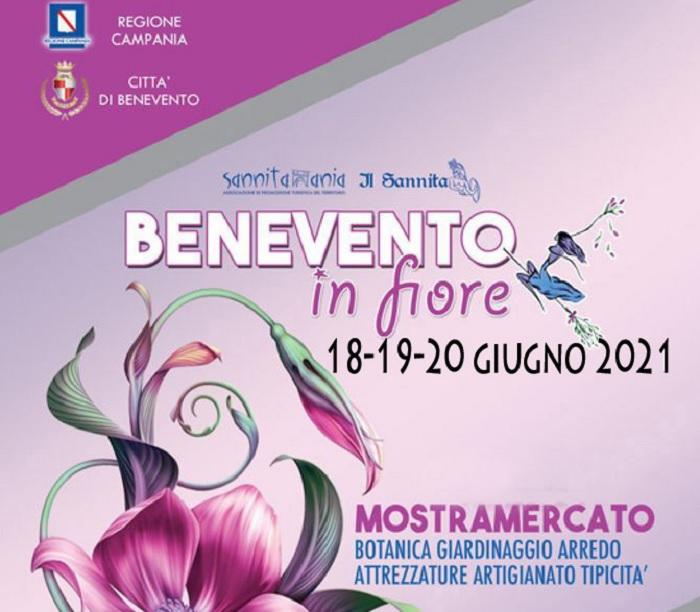 Benevento in Fiore ritorna in Villa comunale il 18-19-20 giugno