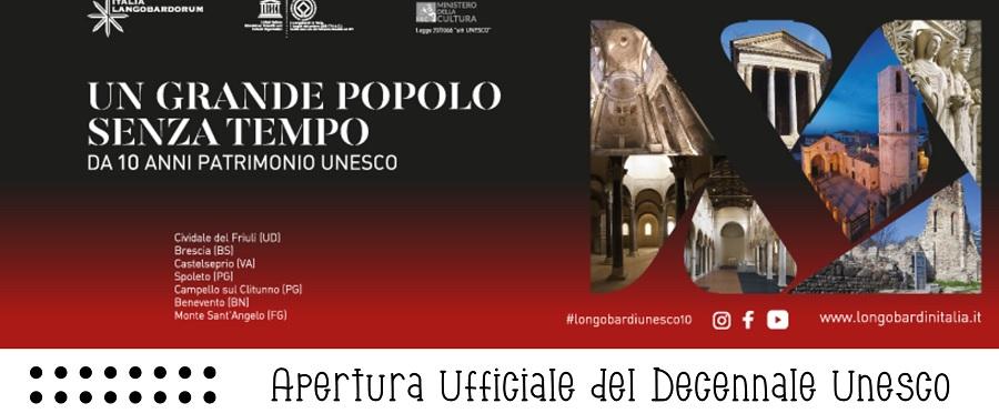 """Dieci anni di UNESCO, giovedì 24 giugno Benevento apre le celebrazioni del sito """"I Longobardi in Italia"""""""