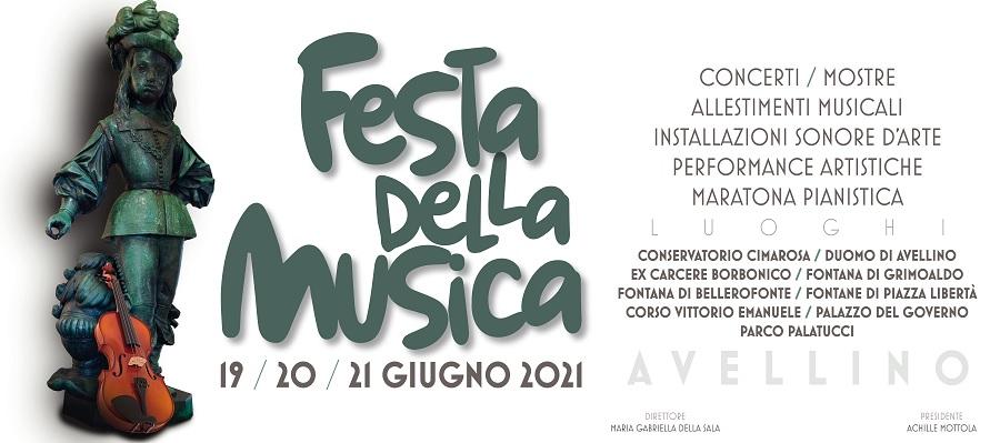 Conservatorio Cimarosa,si alza il sipario sulla Festa della Musica 2021.Ecco il Programma