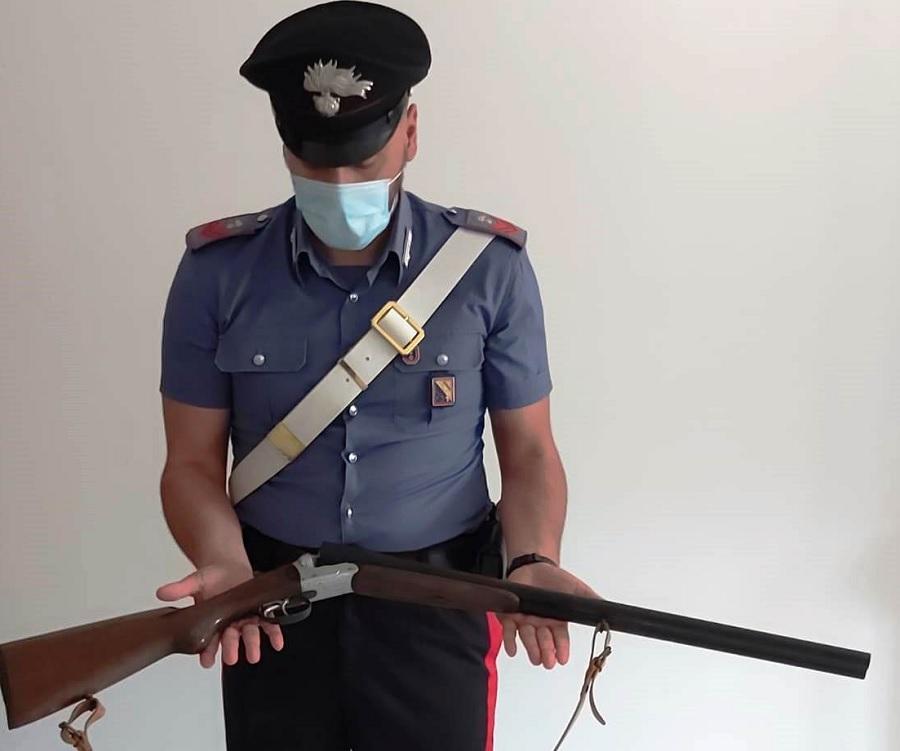 San Giorgio La Molara,controlli sulle armi: denunciato dai Carabinieri per omessa custodia