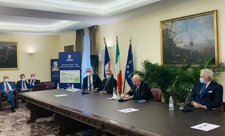 """Fernando Errico: """"Napoli-Bari, entro l'anno tutti i cantieri operativi"""""""