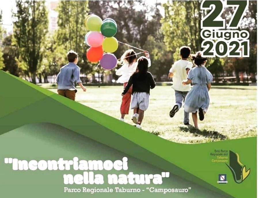 """A Piana di Camposauro la manifestazione rivolta ai bambini: """"Incontriamoci nella natura"""""""