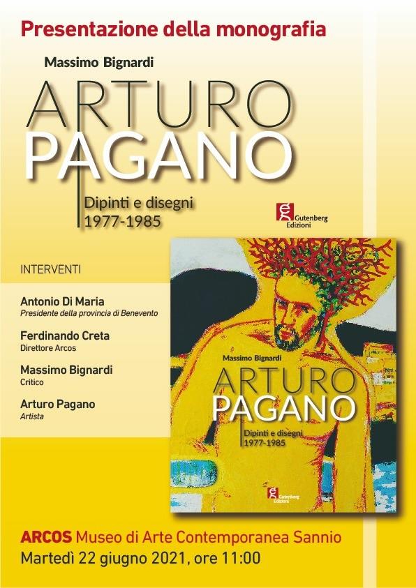 """Da Martedì 22 Giugno all'Arcos la monografia """"Arturo Pagano, Dipinti e disegni 1977-1985"""""""