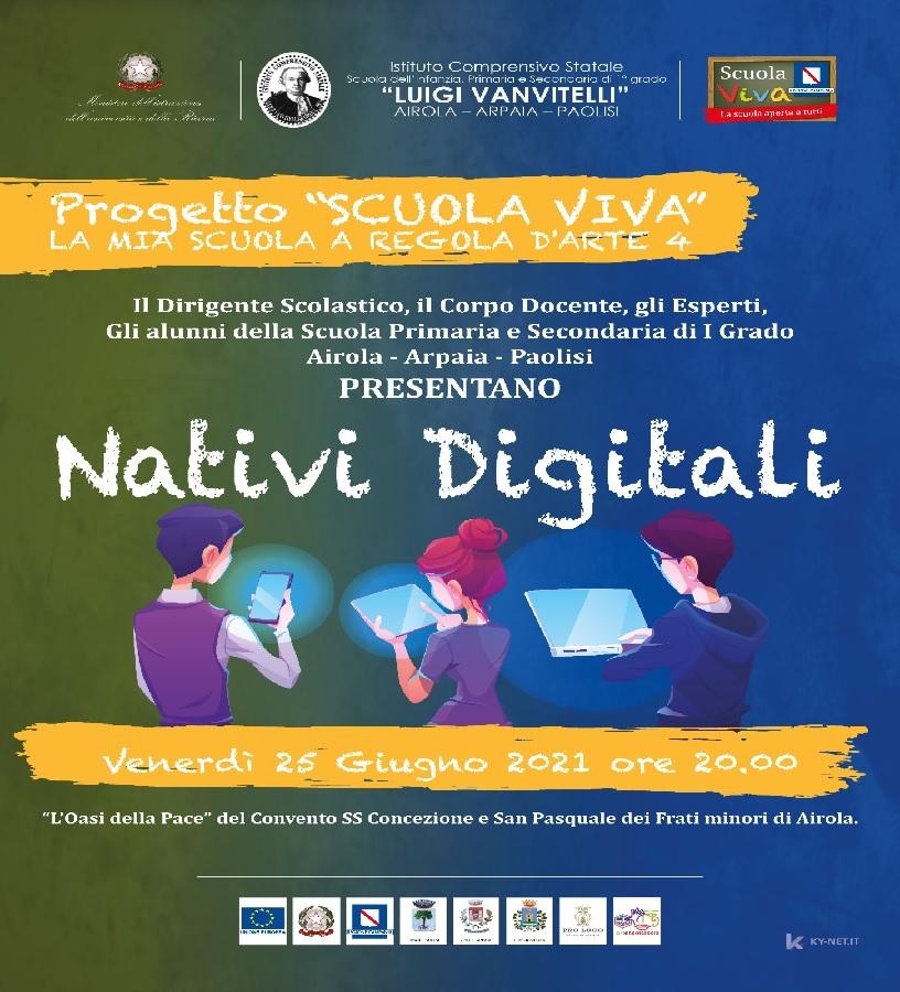 Concluse le attività del progetto Scuola Viva dell'Istituto Vanvitelli di Airola.