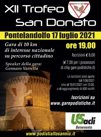"""Podisti Alto Sannio:Restart con il """"XII Trofeo San Donato"""""""